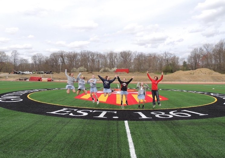 Lacrosse to play on new turf field!